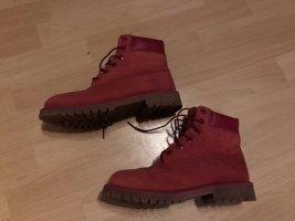 Timberland Desert Boots red