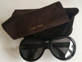 Tom Ford Gafas de sol redondas negro-color plata