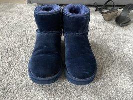 Original UGG Schuhe aus Samt in blau