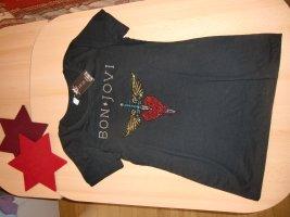 Original USA-Bon Jovi Heart & Dagger Bling TShirt, Gr. M