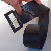 Valentino Garavani Cinturón de cuero negro