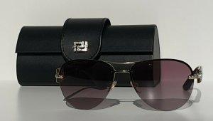 Original Versace Sonnenbrille, Purple-Gold / Lila