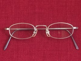 Calvin Klein Glasses silver-colored glas