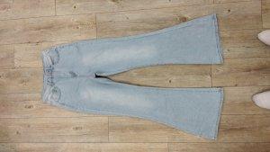 True Vintage Baggy Jeans multicolored spandex