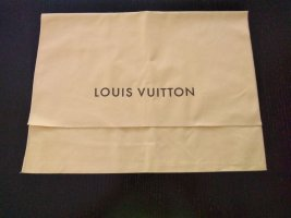 Louis Vuitton Sac en toile brun sable lin