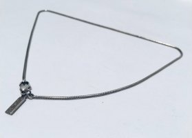 Yves Saint Laurent Silver Chain silver-colored metal