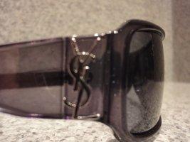 Saint Laurent Gafas de sol ovaladas negro acetato