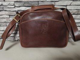 Original Yves Saint Laurent Tasche Ysl Vintage Bag rotbraun
