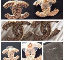 Chanel Zarcillo color plata
