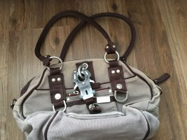 George Gina & Lucy Handbag grey lilac-brown red