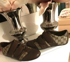 Gucci Sneaker Hook-and-loop fastener Sneakers bronze-colored