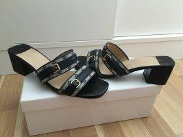 Originale LV Sandale, Sandalette, Leder / Monogramm