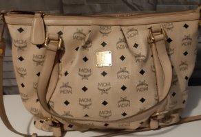 MCM Shoulder Bag cream-beige