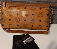 MCM Mini Bag brown-cognac-coloured