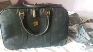 MCM Travel Bag black silk