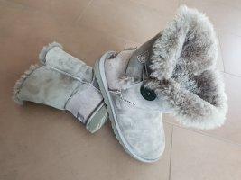 Originale UGG Boots, Bailey Button II, mit Knopf, grau, Gr. 40