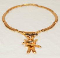 Christian Dior Collar estilo collier color oro metal