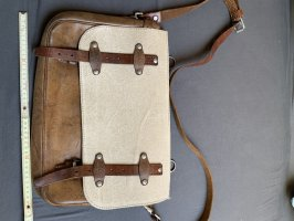 2964 Garmisch Traditional Bag natural white-brown leather