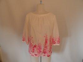 Orsay Inserción de blusa blanco-rosa Poliéster