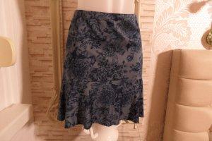 Orsay Circle Skirt blue polyester