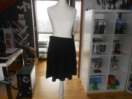 Orsay Skaterska spódnica czarny Wiskoza