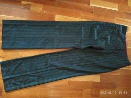 Orwell Pantalone di lana antracite-rosso neon Mohair