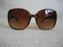 Oscar de la renta Occhiale da sole ovale marrone