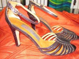 High Heel Sandalette *ECHTES SCHLANGENLEDER*   Franco Fontana