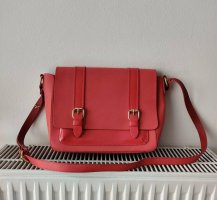 & other stories Satchel raspberry-red