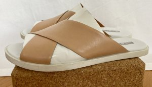 & other stories Beach Sandals white-camel leather