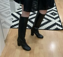 & other stories Heel Boots black leather