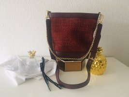 & other stories Crossbody bag bordeaux