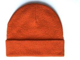 &otherstories Mütze Beanie Wolle orange Headware