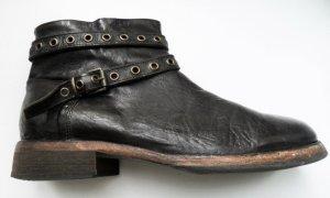 Otto Kern Stivale Chelsea marrone scuro Pelle