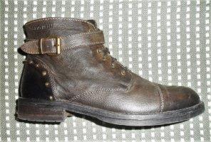 Otto Kern Chukka boot vert olive cuir