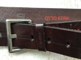 Otto Kern Leather Belt brown leather
