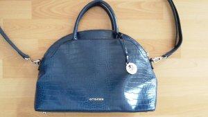 Otto Kern Damenhandtasche, blau, 1x benutzt.