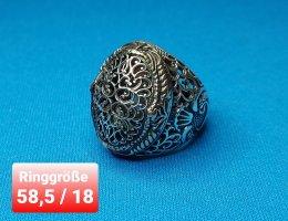 Ottoman Ring aus echtem Silber ( Handgefertigte Schmuck)