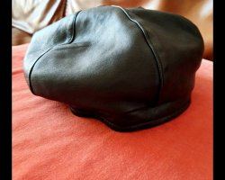 Our Legacy Leather Beret New Unisex