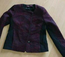 Comptoir des Cotonniers Korte blazer zwart-paars