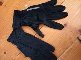 Gants thermiques noir tissu mixte
