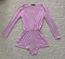 Boohoo Jumpsuit neon pink-lilac