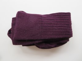 Legwarmers brown violet