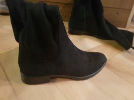 Zara Woman Botas sobre la rodilla negro