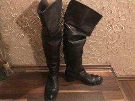 EGO Shoes Botas sobre la rodilla negro
