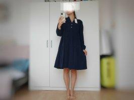 Oversize Cord Midi  Kleid gr aus Italien