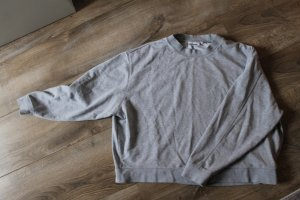 Weekday Oversized Sweater light grey cotton