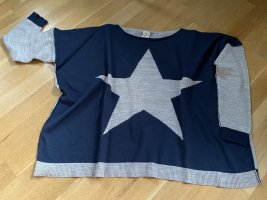 Oversize Pullover Shirt langarm 'Stern'