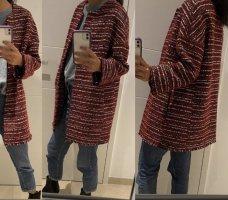 Massimo Dutti Blazer en tweed multicolore
