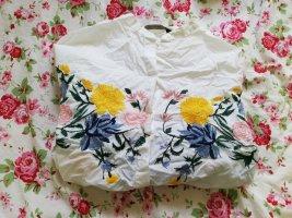 Oversized Bluse mit Blumen